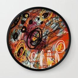 Cirka-firka Wall Clock