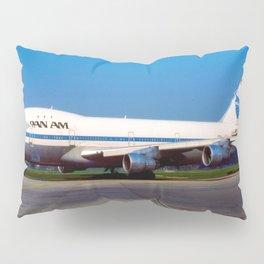 PanAm 747 Clipper Pillow Sham