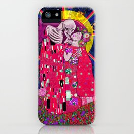 The Kiss Macabre iPhone Case