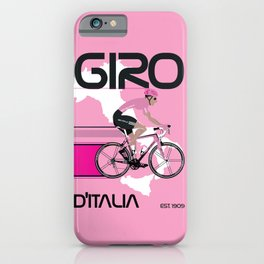 GIRO D'ITALIA Grand Cycling Tour of Italy iPhone Case