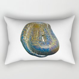 Snakes: Reticulated Python Rectangular Pillow