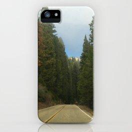 Sequoia National Park- Road iPhone Case
