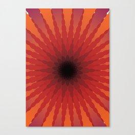 Spherical Pattern 3 Canvas Print
