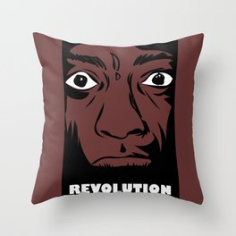 political revolution, fight for your rights Throw Pillow