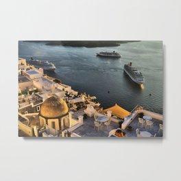 Santorini 20 Metal Print