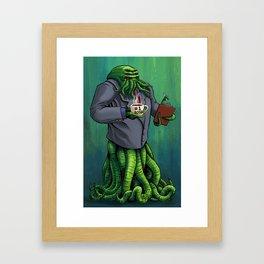 Boss Monster Framed Art Print
