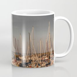 Horumersiel marina lower saxony Germany ( Northsea ) Coffee Mug