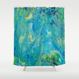 Freedom from Oil Part 4 Shower Curtain