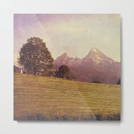 WATZMANN - mountain in the Bavarian Alps Metal Print