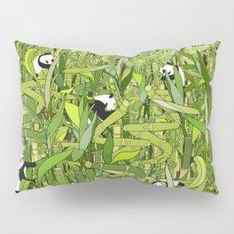 Pandas Bamboo Forest Pillow Sham