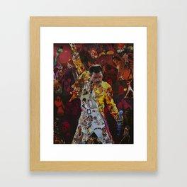 queen collega Framed Art Print