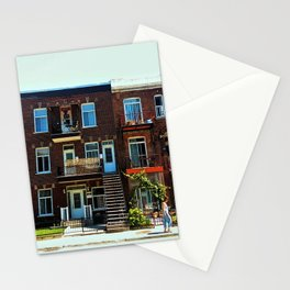 You and simmetry - Montreal Stationery Cards