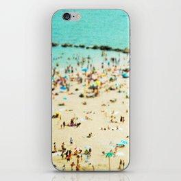 Coney Island Beach 2 iPhone Skin
