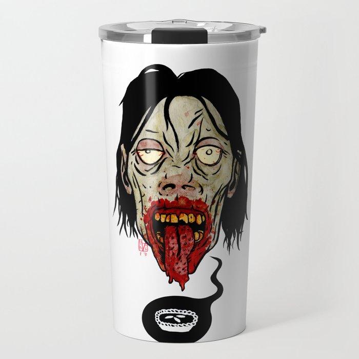 Deep Zombie Thoughts Travel Mug