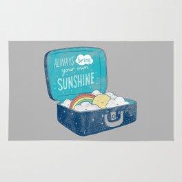 Always bring your own sunshine Rug