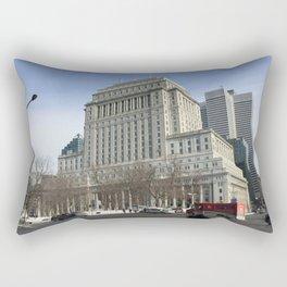Crispy Montreal Morning 88 Rectangular Pillow