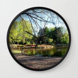Muscogee (Creek) Nation - HonorHeights Park Azalea Festival, Duck Pond Wall Clock