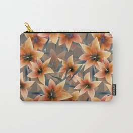 Orange lilies. Lily Carry-All Pouch