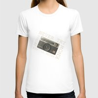 vintage camera T-shirts featuring CAMERA by Monika Strigel