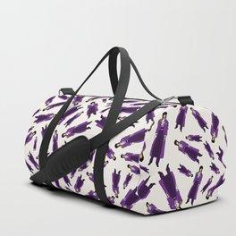 Purple Pattern 1 Duffle Bag