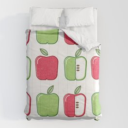 APPLE SMAPPLE DAPPLE HAPPLE PAPPLE Comforters