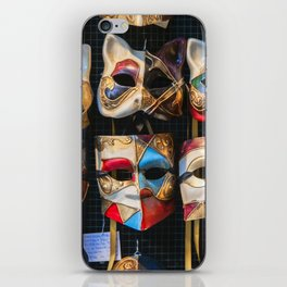 Venetian Carnival Masks (c) iPhone Skin