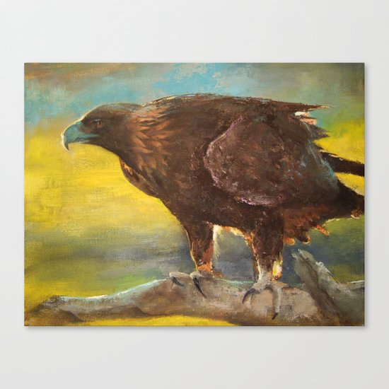 Golden Eagle (Aquila chrysaetos) Canvas Print