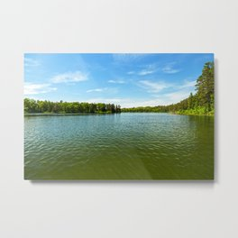 Lake Itasca - Minnesota, USA 15 Metal Print