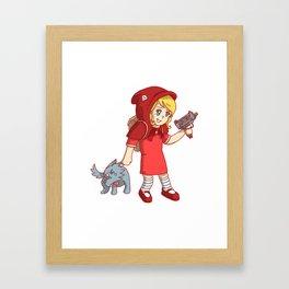 K-LittleRed Framed Art Print