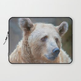 Bear Necessities      (digital painting) Laptop Sleeve