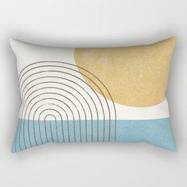 Sunny ocean Rectangular Pillow