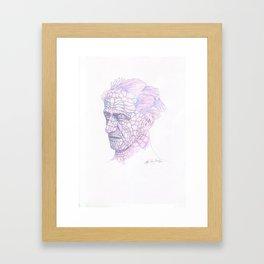 Merman Framed Art Print