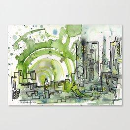 City of Tomorrow Canvas Print