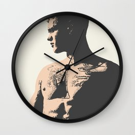 No. 13 - Male Figure Illustration Wall Clock