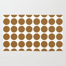 Brown Sugar Neutral Dots Rug