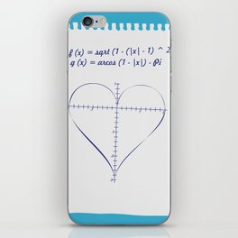 Love Equation iPhone Skin