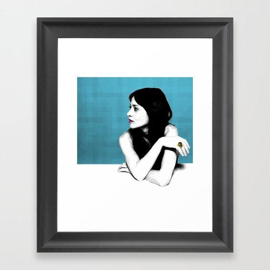 FIONA APPLE IDLER WHEEL Framed Art Print