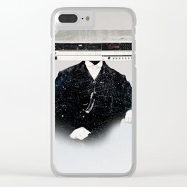 Faces of the Past: VCR Clear iPhone Case