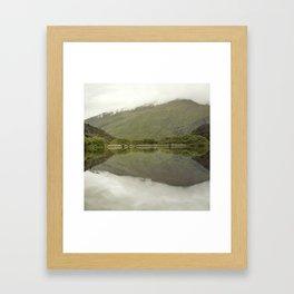 Reflections from Diamond Lake Framed Art Print