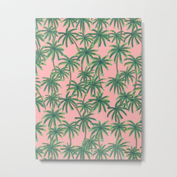 Palms Obsession Metal Print