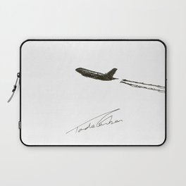 There goes my will by Tade Garben Laptop Sleeve