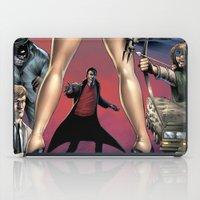 robin hood iPad Cases featuring Dracula vs. Robin Hood vs. Jekyll & Hyde by Eco Comics