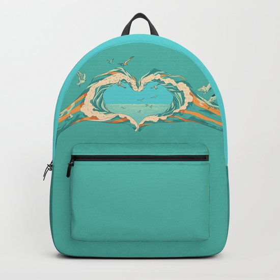 My Heart & The sea Backpack