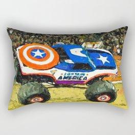 Monster Truck Rectangular Pillow