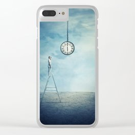 Time Control Clear iPhone Case