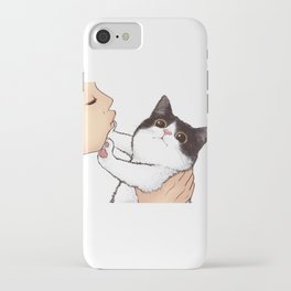 Don't kiss! iPhone Case