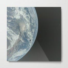 Apollo 12 Orbit Metal Print