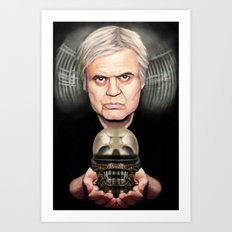 HR Giger's Alien Art Print