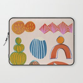 Abstraction_Nature_Element_01 Laptop Sleeve