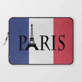 Grunge Paris Laptop Sleeve
